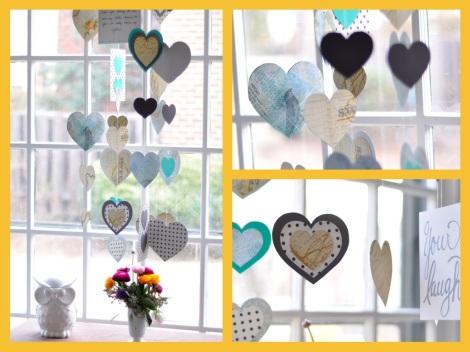 Make a Valentine Mobile | Salt & Twine Blog