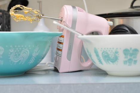 Mixing bowls and Kitchenaid